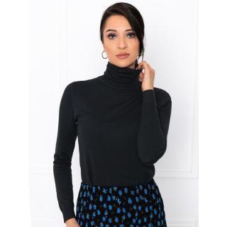 Edoti Womens polo neck ELR004 dámské Black One size