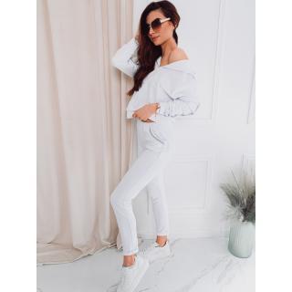Edoti Womens set sweatshirt   pants ZLR001 dámské White M
