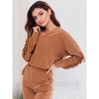 Edoti Womens sweatshirt TLR005 dámské Beige XS