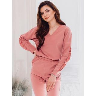 Edoti Womens sweatshirt TLR005 dámské Pink XS