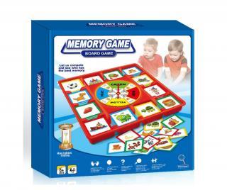 Edukačná hra Memory Pestrofarebná