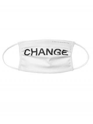 EINSTEIN & NEWTON Látkové rúško Change  biela pánské One Size