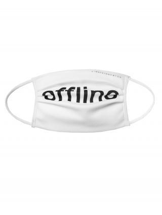 EINSTEIN & NEWTON Látkové rúško Offline  biela pánské One Size