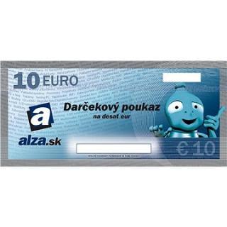 Elektronický darčekový poukaz Alza.sk na nákup tovaru v hodnote 10 €