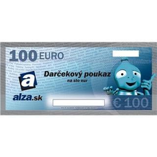 Elektronický darčekový poukaz Alza.sk na nákup tovaru v hodnote 100 €