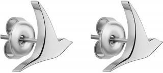 Emily Westwood Oceľové náušnice holubička WE1035S dámské