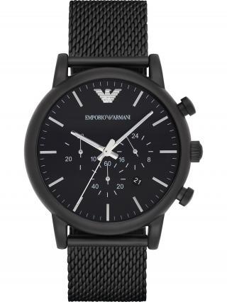 Emporio Armani Analógové hodinky AR1968  čierna pánské One Size