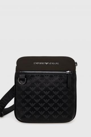 Emporio Armani - Malá taška pánské čierna ONE SIZE