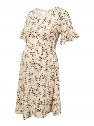 Envie de Fraise Letné šaty AMELIA  krémová / čierna dámské 42-44