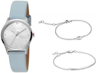 Esprit Dárkový set hodinek se 2 náramky Heart SET ES1L092L0015 dámské