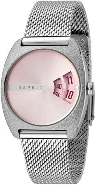 Esprit Disc Pink Silver Mesh ES1L036M0055 dámské