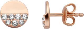 Esprit Drobné trblietavé náušnice zo striebra ESER00861200 dámské