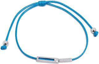 Esprit Modrý šnúrkový náramok Mini ESBR00741421 dámské