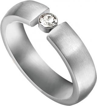 Esprit Oceľový prsteň Laurel ESRG0014241 54 mm