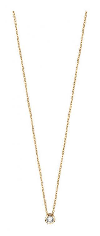 Esprit Pozlátený strieborný náhrdelník ESNL00791442