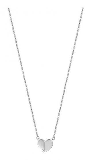 Esprit Strieborný náhrdelník so srdiečkom ESNL00871142
