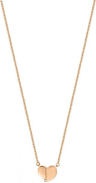 Esprit Strieborný náhrdelník so srdiečkom ESNL00871242