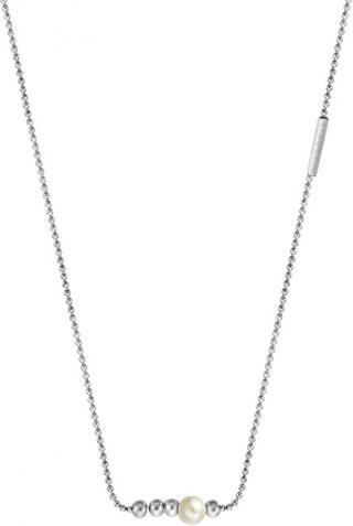 Esprit Strieborný náhrdelník so syntetickou perlou Powder ESNL00201142