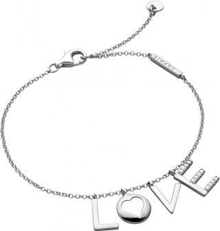 Esprit Strieborný náramok Love Amory ESBR00231118