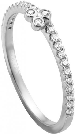 Esprit Strieborný prsteň s kryštálmi Play ESRG005311 57 mm dámské