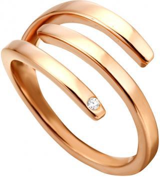 Esprit Štýlový bronzový prsteň Iva ESRG001616 51 mm