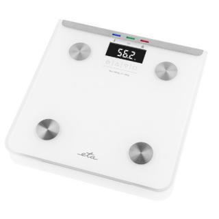 ETA Osobná váha s telesnou analýzou Laura 0781 0000 biela