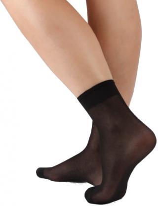 Evona Dámske ponožky Napolo 999 čierne 5 pack 25-27