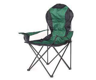 Exteriérová skladacia stolička Korfu Dark Green Zelená