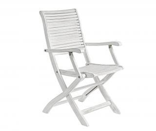 Exteriérová skladacia stolička Octavia Armrest