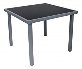 Exteriérový stôl Donis Čierna