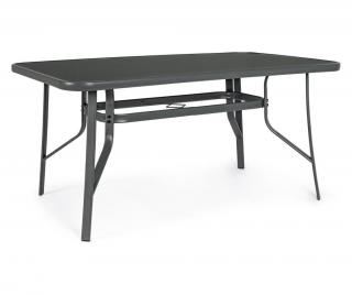 Exteriérový stôl Martinez Čierna