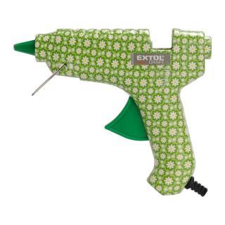 Extol Craft Pištoľ lepiaca tavná 100 W 422001