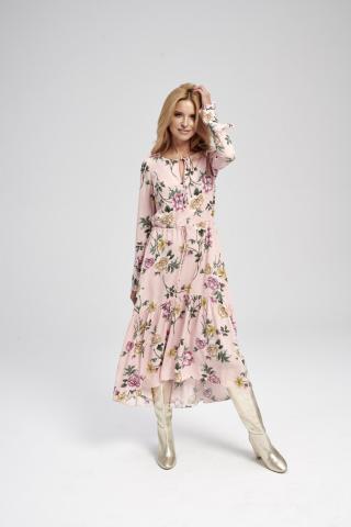 Ezuri Womans Dress 5717 Multicolour dámské wzorzysty 36
