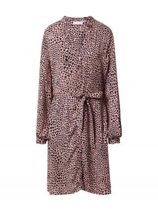 Fabienne Chapot Košeľové šaty Dorien  staroružová / čierna dámské 34