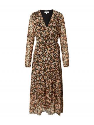 Fabienne Chapot Košeľové šaty Natasja  ružová / čierna / hnedá dámské 34