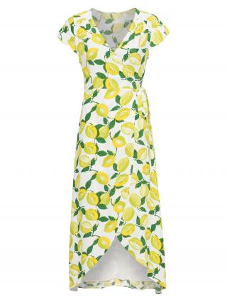 Fabienne Chapot Letné šaty Archana  biela / žltá / zelená dámské 34
