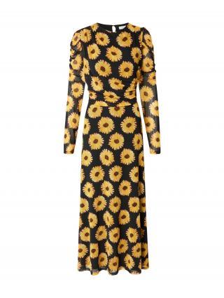 Fabienne Chapot Šaty Bella  žltá / čierna dámské 34