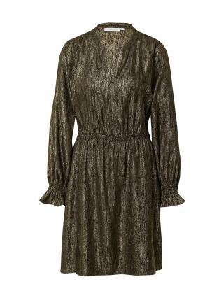 Fabienne Chapot Šaty  čierna / zlatá dámské 34