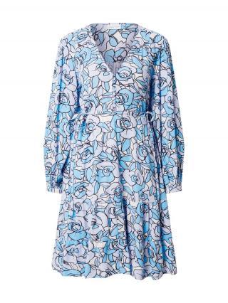 Fabienne Chapot Šaty Lola  biela / modrá / pastelovo fialová dámské 40