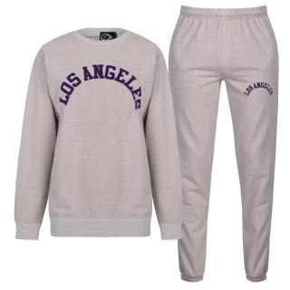 Fabric City Washed Sweatshirt and Jogger Tracksuit Co Ord Set dámské Other XL