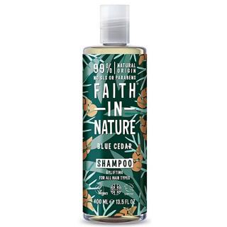 Faith in Nature Prírodné šampón pre mužov Modrý céder  400 ml pánské