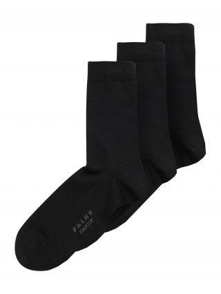 FALKE Ponožky  čierna / sivá dámské 19-22