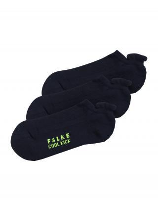 FALKE Ponožky Cool Kick  námornícka modrá / neónovo zelená pánské 23-26,5