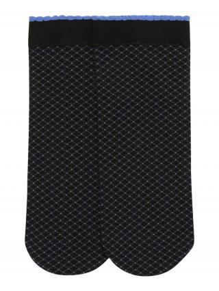 FALKE Ponožky Illusion  čierna / svetlomodrá dámské 37,5