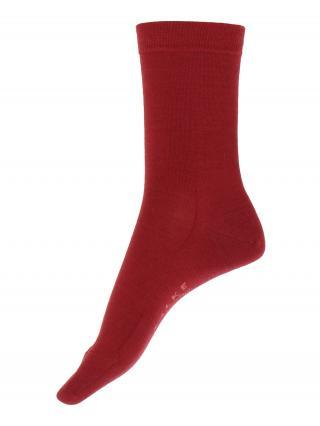 FALKE Ponožky Softmerino  červená dámské 35-36