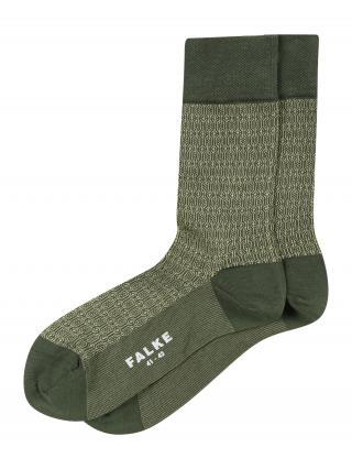 FALKE Ponožky  zelená / trstinová pánské 39-40