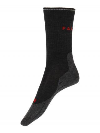 FALKE Športové ponožky  antracitová / červená pánské 35-36