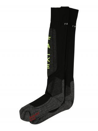 FALKE Športové ponožky  čierna / tmavosivá / červená / trstinová pánské 39-41