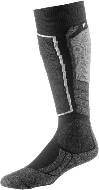 FALKE Športové ponožky SK 2  grafitová / čierna pánské 39-41