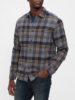 Farebná pánska košeľa GAP pánské modrá L